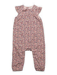 Clotilda Romper, B - WITHERED ROSE