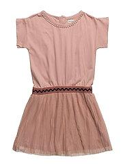 Charmine Dress, K - ROSE DUST