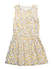 Charlotta Dress, K - YELLOW LEMON