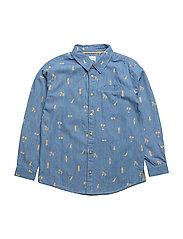 Jeppe Shirt, K - TRUE NAVY