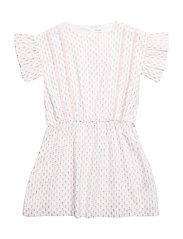 Distella Dress, K - WHITE