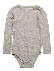 Emmely Body, B - LIGHT GREY MELANGE