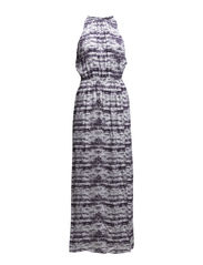 Mathilde Dress - metal grey