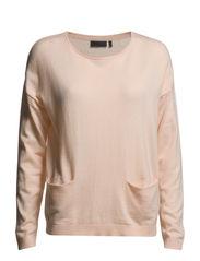 Heian Knit - pastel pink