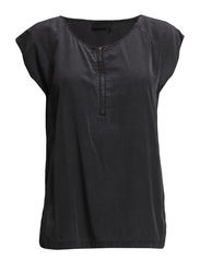 agatha Top - smoke black