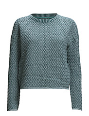 Jerika Knit - shaded green