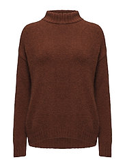 Lisette Knit - RED OCHRE
