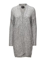Lizett Knit - White grey melange