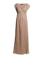 daksha long Dress - Cashmere rose