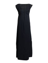 daksha long Dress - twillight blue