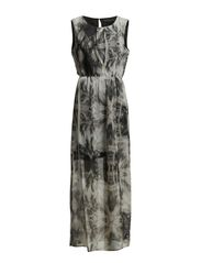 Trinne long  Dress - white