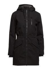 arial jacket - Black