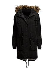 naomi jacket - Black