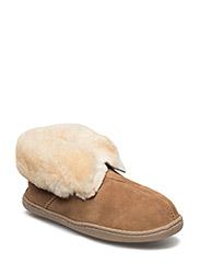 Sheepskin Ankle Boot - GOLDEN TAN