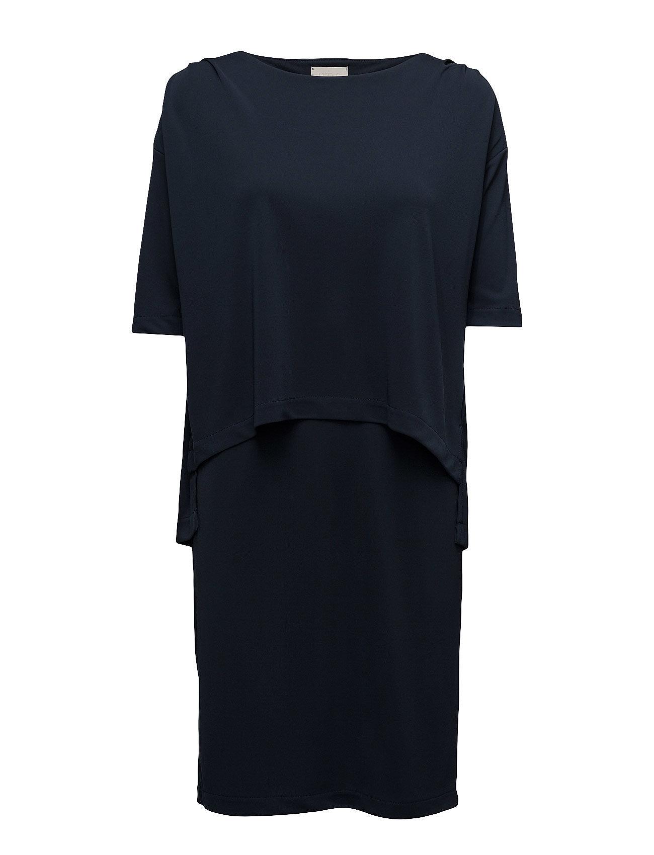 Cita Dress Minus Knælange & mellemlange til Damer i Black Iris