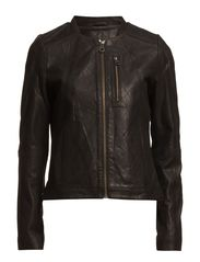 Jane leather Jacket - Black