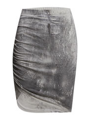 Kimmie cracked print - Grey stone print