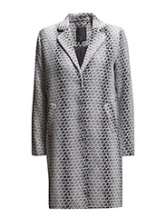 Law coat - SMOKED PEARL