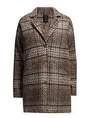 Biano coat - CHEQUERED