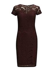Gabriella lace dress - FUDGE