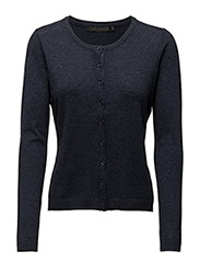 New Laura cardigan - BLACK IRIS MELANGé
