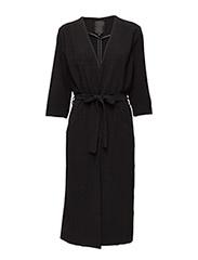 Trine Coat - BLACK