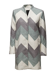 Stephanie Coat - GREY MELANGE