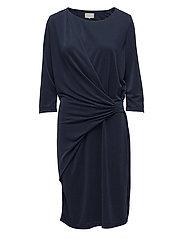 Rela dress - BLACK IRIS