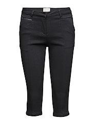 Tenna cropped pants - BLACK