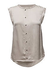 Carrie blouse - CHAMPAGNE