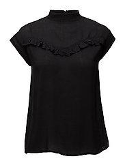 Eliana blouse - BLACK