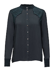 Eliana shirt - LEGION PETROL