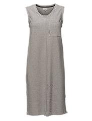 Pasja dress - BROKEN WHITE/BLACK IRIS STRIPE