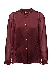 Tracie shirt - BORDEAUX