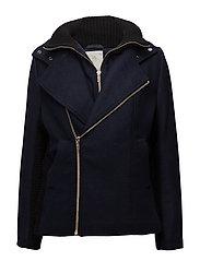 Lulu jacket - BLACK IRIS