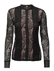 Tillie blouse - BLACK