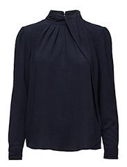 Odette blouse - BLACK IRIS