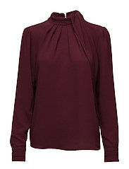 Odette blouse - BORDEAUX