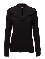 Belle blouse - BLACK