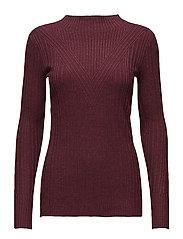 Frazer pullover - BORDEAUX