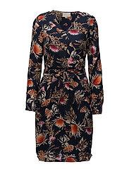 Velma dress - THISTLE PRINT