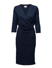 Dion dress - BLACK IRIS