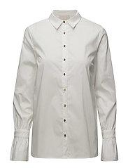 Freja shirt - CLOUD DANCER