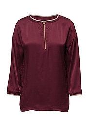 Ennis blouse - BORDEAUX