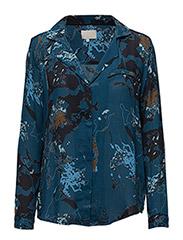 Sam shirt - COLOR PRINT LEGION PETROL