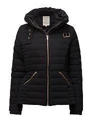 Costa coat - BLACK