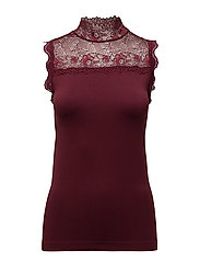 Vanessa high neck - BORDEAUX