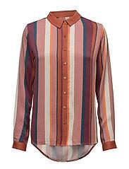 Izzy shirt - STRIPED PRINT
