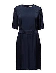 Beck dress - BLACK IRIS