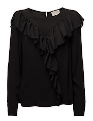 Johnna blouse - BLACK